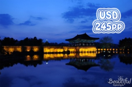 Gyeongju KTX(Train) 2D1N Tour