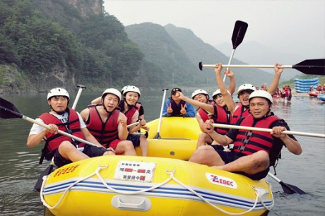 White-Water Rafting Tour (Lunch) / USD 75