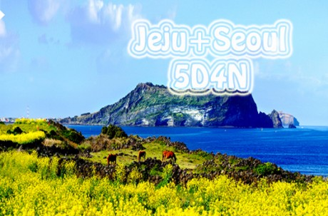 Jeju + Seoul 5D4N Tour package