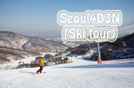 Seoul4D3N Tour package (ski)