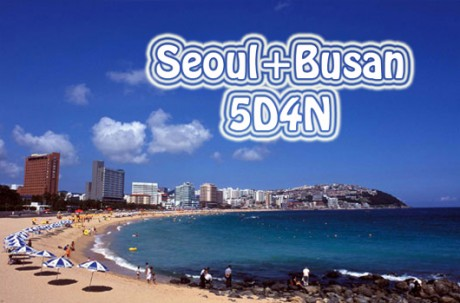 Seoul+Busan 5D4N Tour package
