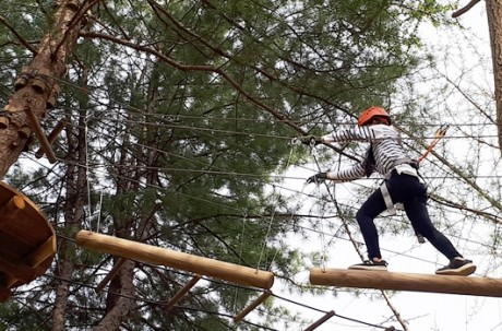 Challenge & Adventure Class (Zipline) Ticket / USD 15