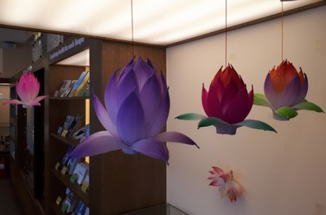 Making a Lotus Flower Lantern (Insa-dong) / Free of Charge