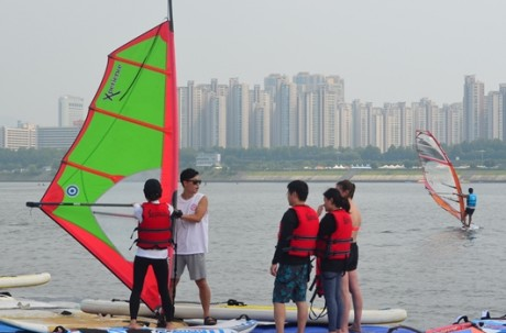 Kayak or Windsurfing Class (Han River) Ticket / USD 55